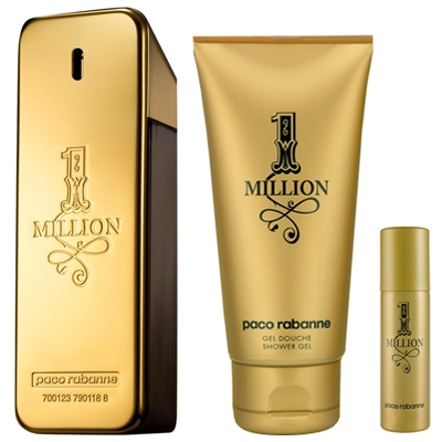 Set 1 Million 100ml + Shower Gel 100ml + Mini 10ml