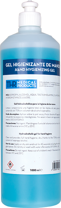 Gel Higienizante de Manos 1000ml