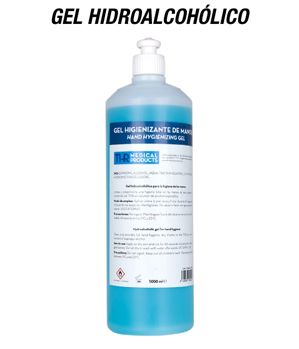 THR Medical Products - Higienizante Hidroalcohólico de Manos