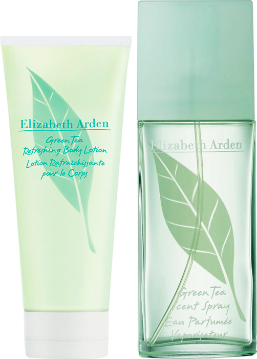 Set Green Tea Eau Perfumée 100ml + Body Lotion 100ml