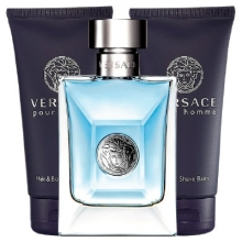 Set Versace pour Homme 50ml + Shower Gel 50ml + Aftershave Balm 50ml
