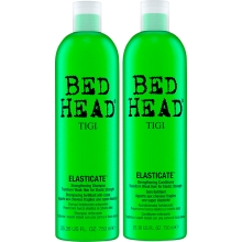 Set Bed Head Elasticate Shampoo 750ml + Elasticate Conditioner 750ml