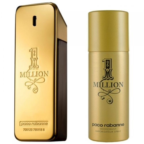 Set 1 Million 100ml + Desodorante Spray 150ml