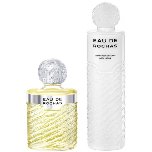 Set Eau de Rochas 220ml + Body Lotion 500ml