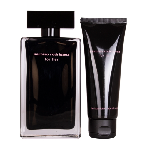 Set Narciso Rodriguez For Her 100ml + Body Lotion 75ml