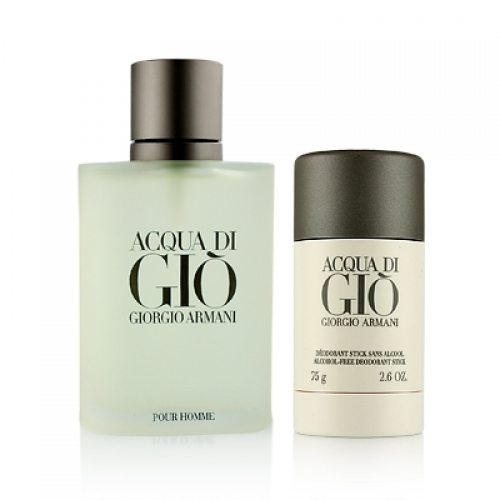 Set Acqua Di Giò 100ml + Desodorante Stick 75g