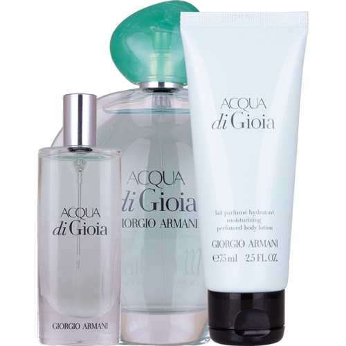 Set Acqua di Gioia 100ml + 15ml + Body Lotion 75ml