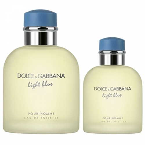 Set Light Blue pour Homme 125ml + 40ml