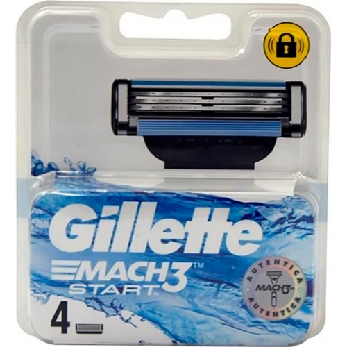 Gillette Mach3 Start 4 Recargas
