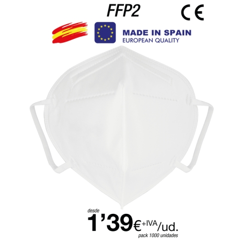 Pack Mascarillas FFP2 Made in Spain